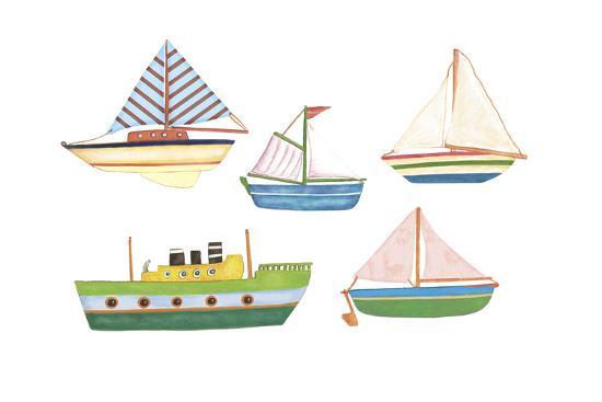 Boats 1-Maria Trad-Giclee Print