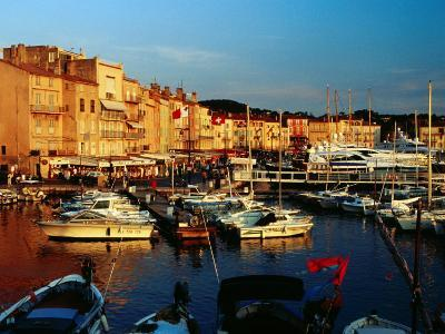 Boats and Buildings at Port, St. Tropez, France-Richard I'Anson-Photographic Print