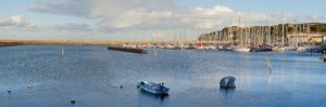 Boats at a Harbor, Howth, Dublin Bay, Dublin, Leinster Province, Republic of Ireland