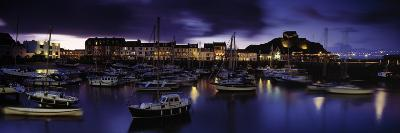 Boats at a Harbor, Ilfracombe, North Devon, Devon, England--Photographic Print