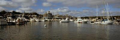 Boats at a Harbor, Oak Bluffs, Martha's Vineyard, Dukes County, Massachusetts, USA--Photographic Print