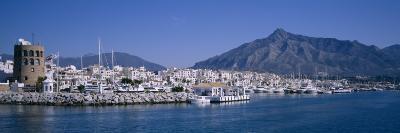 Boats at a Harbor, Puerto Banus, Marbella, Costa Del Sol, Andalusia, Spain--Photographic Print