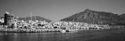 Boats at a Harbor, Puerto Banus, Marbella, Costa Del Sol, Andalusia, Spain--Photographic Print