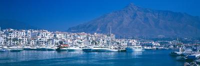 Boats at a Harbor, Puerto Banus, Marbella, Costa Del Sol, Malaga Province, Andalusia, Spain--Photographic Print