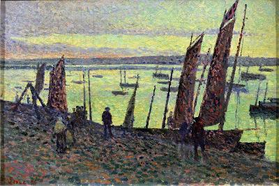 Boats at Camaret, 1893-Maximilien Luce-Giclee Print