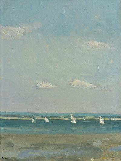 Boats at East Head I-Paul Brown-Giclee Print