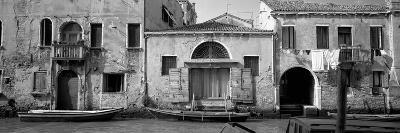 Boats in a Canal, Grand Canal, Rio Della Pieta, Venice, Italy--Photographic Print