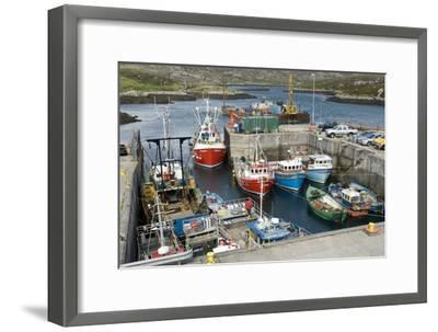 Boats In a Harbour-Adrian Bicker-Framed Photographic Print
