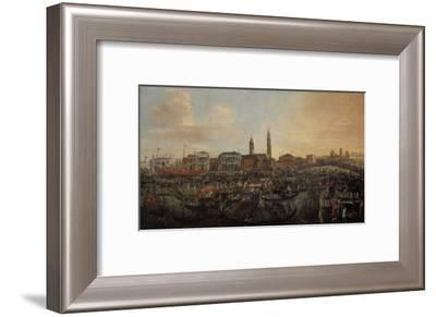 Boats in Murano-Joseph Heintz-Framed Giclee Print
