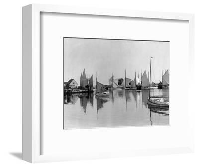 Boats in Nantucket Harbor