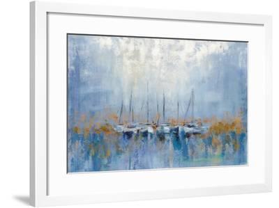 Boats in the Harbor I-Silvia Vassileva-Framed Art Print