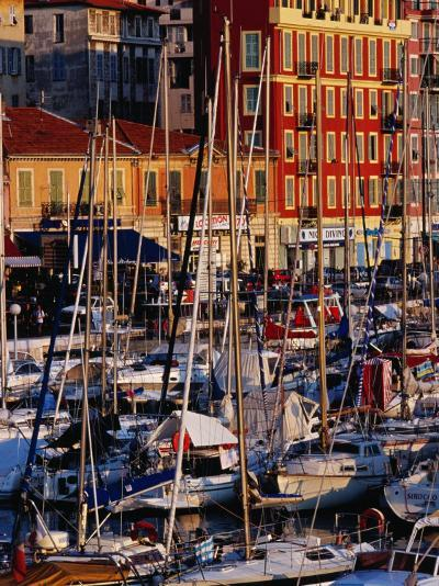 Boats in the Harbour at Bassin Lympia, Nice, France-Richard I'Anson-Photographic Print