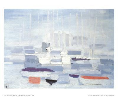 Boats in the Harbour-Nicolas De Stael-Collectable Print