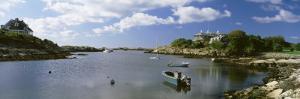 Boats in the Ocean, Ocean Drive, Newport, Rhode Island, USA