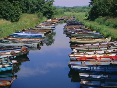 Boats, Killarney, County Kerry, Munster, Republic of Ireland (Eire), Europe-Firecrest Pictures-Photographic Print