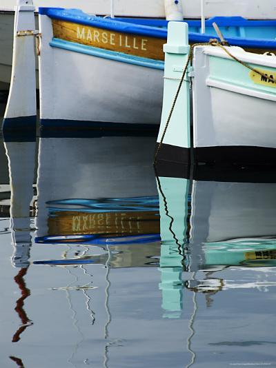 Boats Moored at Vieux Port-Glenn Beanland-Photographic Print