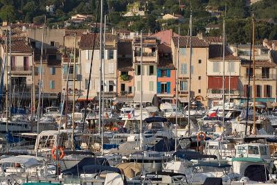 Boats Moored in the Harbour of the Historic Town of Cassis, Cote D'Azur, Provence, France, Europe-Martin Child-Photographic Print