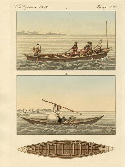 Boats of the Greenlanders--Giclee Print
