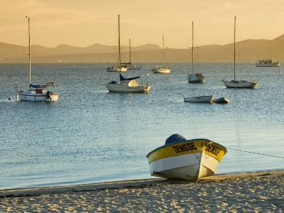 Boats on Beach at Sunrise, Seen from the Malecon-Witold Skrypczak-Photographic Print