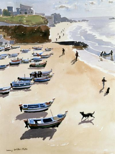 Boats on the Beach, 1986-Lucy Willis-Giclee Print