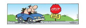 Frank & Ernest - OTSP.  Out of Order. by Bob and Tom Thaves