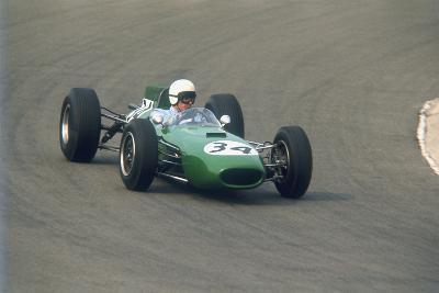 Bob Anderson Driving a Brabham Climax, Dutch Grand Prix, Zandvoort, Holland, 1964--Photographic Print