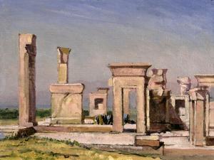 Darius' Palace, Persepolis by Bob Brown