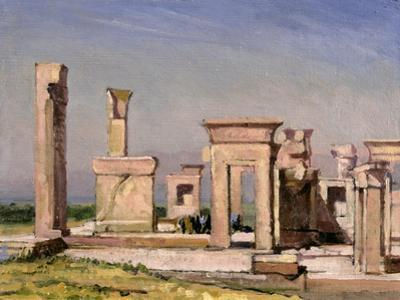 Darius' Palace, Persepolis by Bob Brown