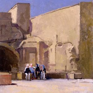 Judy and the Girls, Yazd by Bob Brown