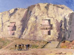 The Tombs of Darius and Artaxeres by Bob Brown