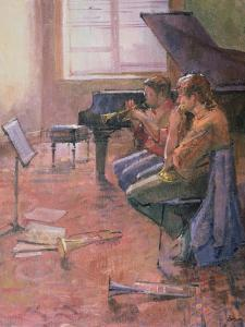 The Trumpet Lesson, 1998 by Bob Brown