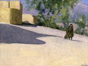Walking to Work, Yazd by Bob Brown