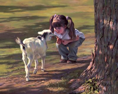Goat Whisperer by Bob Byerley