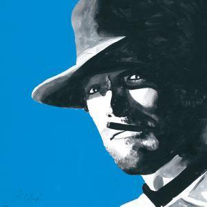 Clint Eastwood by Bob Celic