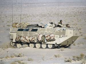 U.S. Marines Assanct Amphibian Vehicle by Bob Daugherty