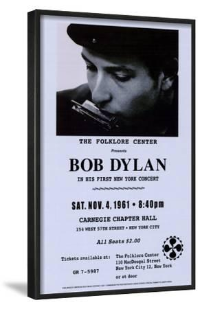 Bob Dylan, Carnegie Hall, 1961