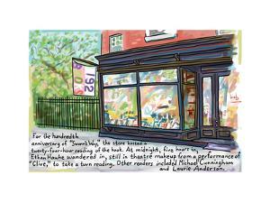 192 Books - Cartoon by Bob Eckstein