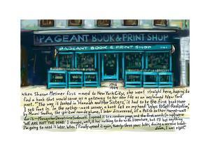 Pagaent Shop - Cartoon by Bob Eckstein