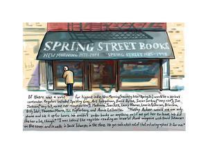 Spring St Book - Cartoon by Bob Eckstein