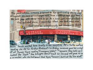 Strand Book - Cartoon by Bob Eckstein