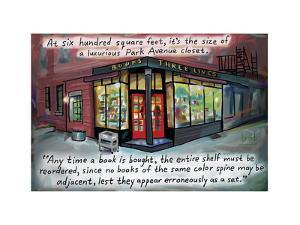 Three Lives - Cartoon by Bob Eckstein