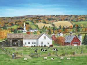 Autumn Fields by Bob Fair