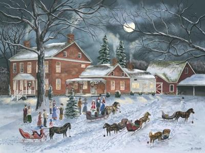 The Carolers Gather by Bob Fair