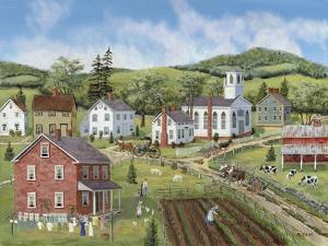 Village Center by Bob Fair