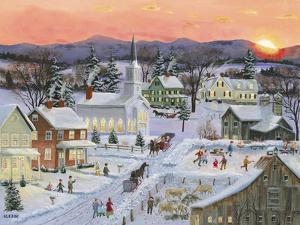 Winter Sunset by Bob Fair