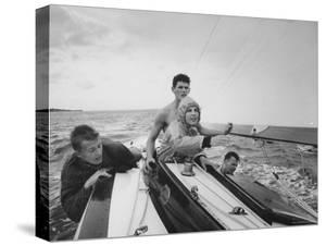 Sailing Class on Long Island Sound by Bob Gomel