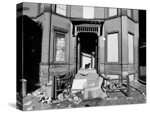 Slums in Bedford Stuyvesant by Bob Gomel