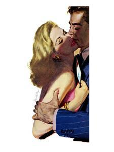 "Larcenous Lady - Saturday Evening Post ""Leading Ladies"", February 21, 1953 pg.31 by Bob Hilbert"