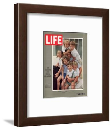 Bob Kennedy's Week of Trial and Decision, July 3, 1964-George Silk-Framed Premium Photographic Print