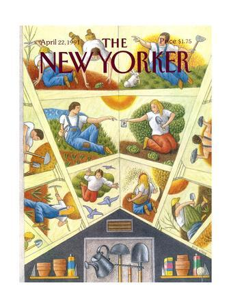 The New Yorker Cover - April 22, 1991